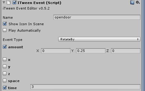 How to make a door that automatically opens and closes in Unity3d