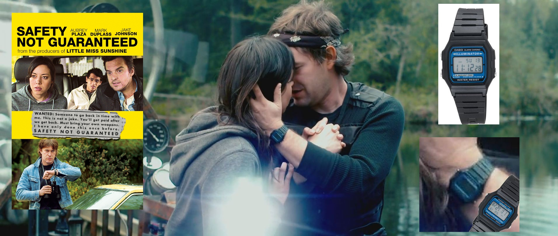 safety not guaranteed if you were a time traveler what watch