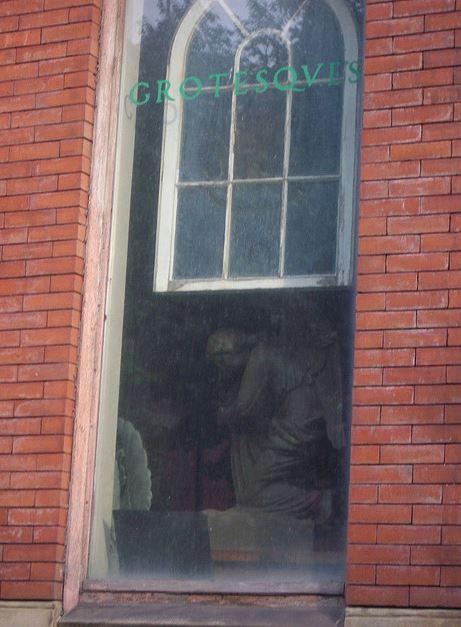 gargoyle store window