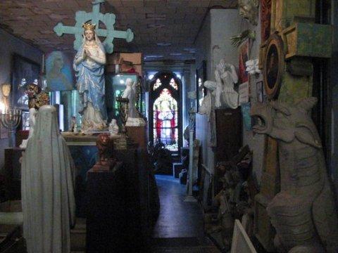 """Inside """"Gargoyles Grotesques & Chimeras"""""""