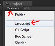 step 03 create a new javascript script