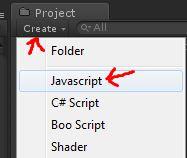 step 03 create a new javascript script