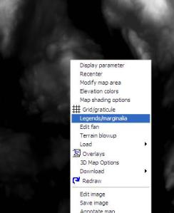 Legends Context Menu