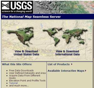 USGS Seamless Server