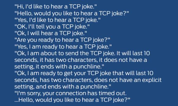 TCP Joke