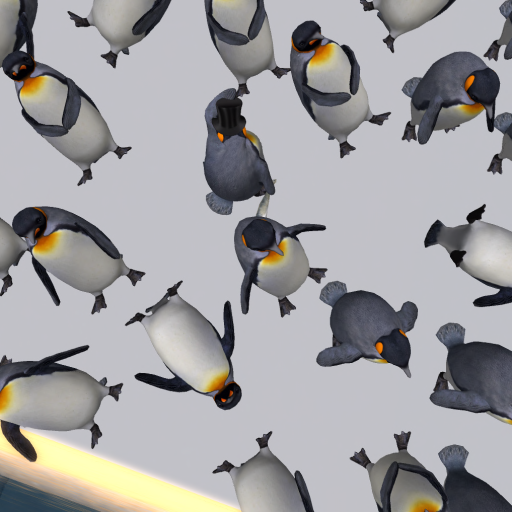 Penguin Mosh Pit Pathfinder Virtual Worlds